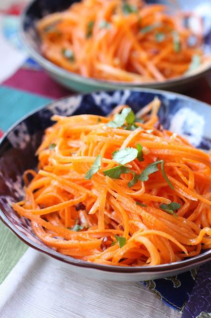 carottes rapees chinoises