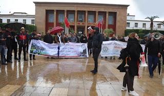 الأساتذة حاملو الشهادات يقررون المبيت أمام البرلمان