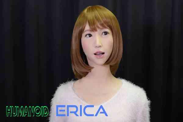 Robot Penyiar Berita TV - Erica