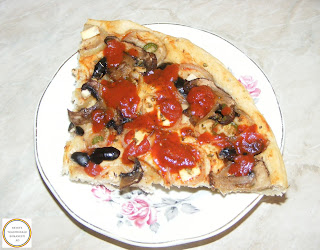 Pizza cu legume reteta,