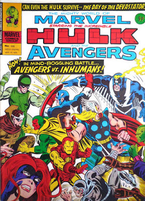 Mighty World of Marvel #208. Avengers vs Inhumans
