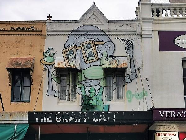 Dulwich Hill Street Art | Le Grizz