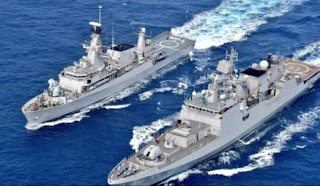 Navies of India & Indonesia Conducted 'PASSEX'