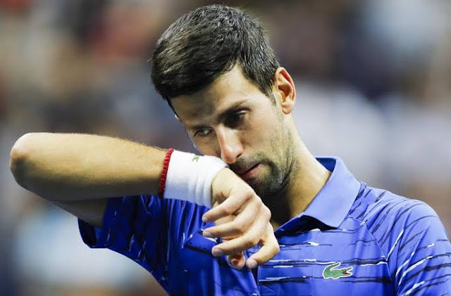 Novak Djokovic dio positivo al Covid-19