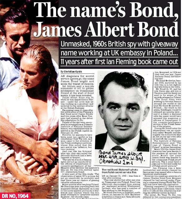 Il vero James Bond viene rivelato, era una spia attiva in Polonia