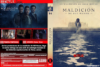 CARATULA LA MALDICION DE BLY MANOR - THE HAUNTING OF BLY MANOR [COVER DVD]