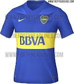 Berita bocoran jersey Boca Juniors home terbaru musim depan 2015/2016