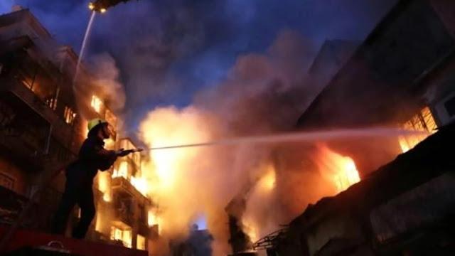بالفيديو… انفجار خطير يهز مصحةً بالدار البيضاء!!