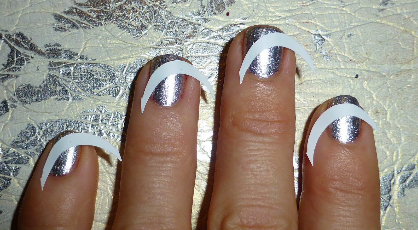 French Manicure Stickers