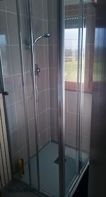 Nasz nowy prysznic