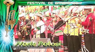 Norte Potosí en el festival de Bandas