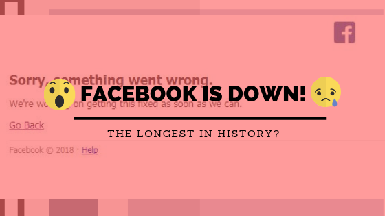 Facebook Down, Longest Downtime Ever - The Products Blog