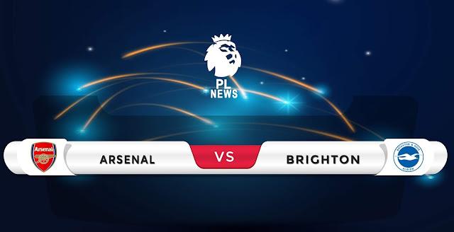 Arsenal vs Brighton line-ups confirmed Premier League