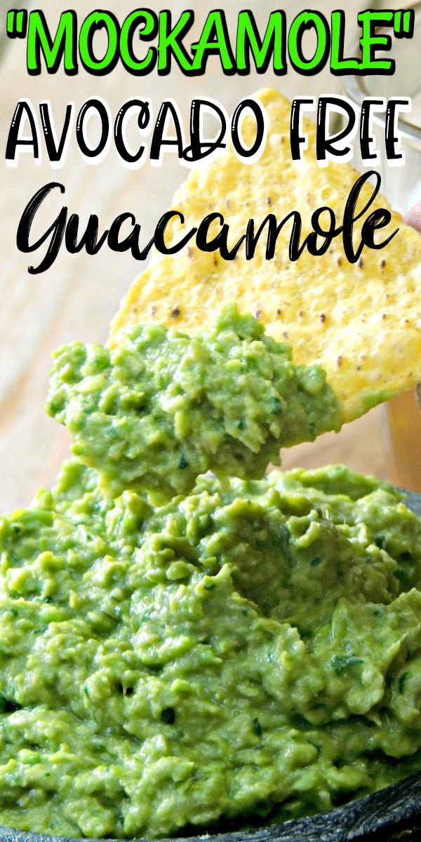 For those of us that can't indulge in guacamole  #mockamole #guacamole #avocadofree #avocadoallergy #allergy #mexican #easy #recipe #lowcarb #keto | bobbiskozykitchen.com