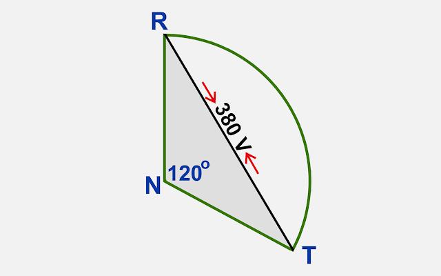 Tegangan Antar Phase (Phase to Phase)