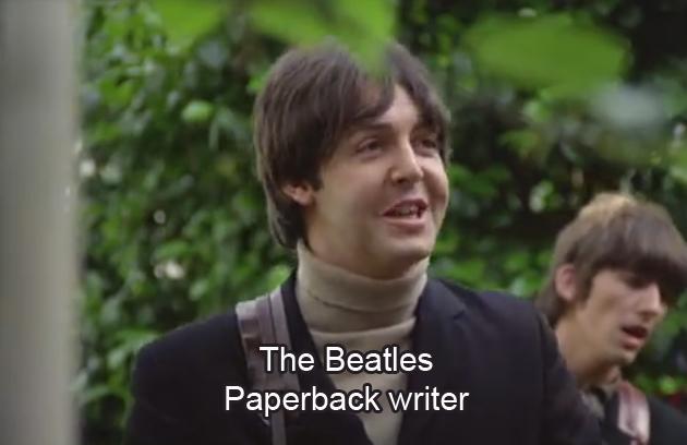 Paperback writer - The Beatles - Lyrics, Chords and Video | Lyrics ...