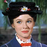 Julie Andrew. Mary Poppins