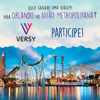 Promoção Orlando com a Metropolitana e Versy!