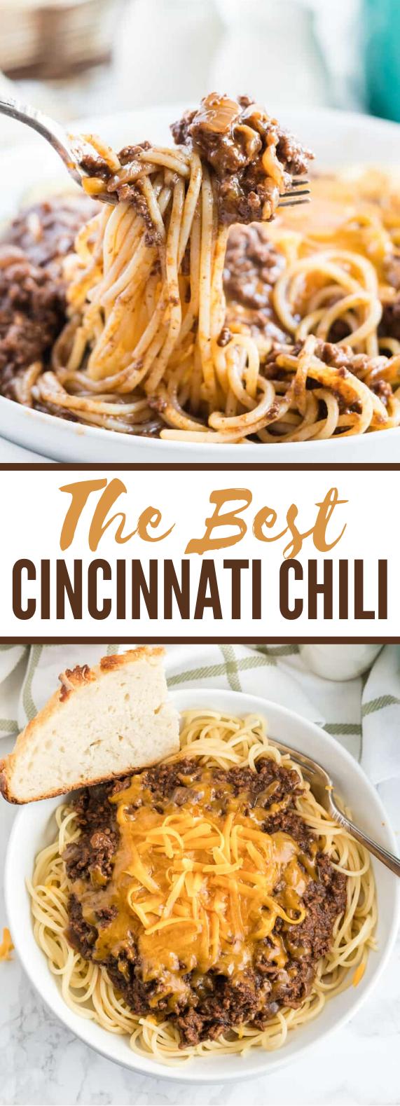 Cincinnati Chili #dinner #pasta