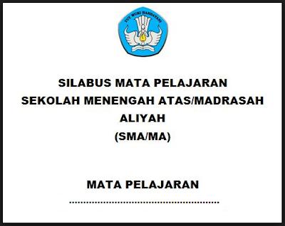 Silabus Bahasa Inggris Peminatan SMA/MA/SMK Kurikulum 2013 Revisi 2017