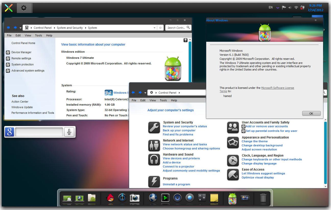 تحميل جميع اصدارات ويندوز 7