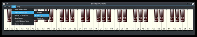 Drumstick Virtual Piano