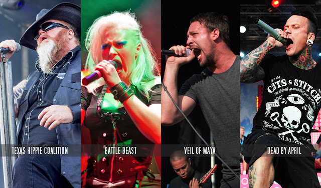 Doublecast Indica podcast, Texas Hippie coalition, Battle Beast, Veil of Maya, Dead by April