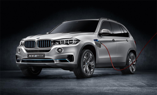 Plug-in BMW X5 eDrive