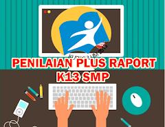 Aplikasi Penilaian Plus Raport Kurikulum 2013 SMP Revisi Tahun 2016 Semua Mata Pelajaran