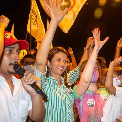 Na Boca da Mata, Katiana assume compromisso com a mudança e o progresso de Abreu e Lima