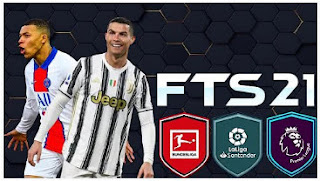 Download FTS 21 MOD eFootball PES 2021 Best Graphics New Update v4.5 with New Face Menu & Updated Transfer