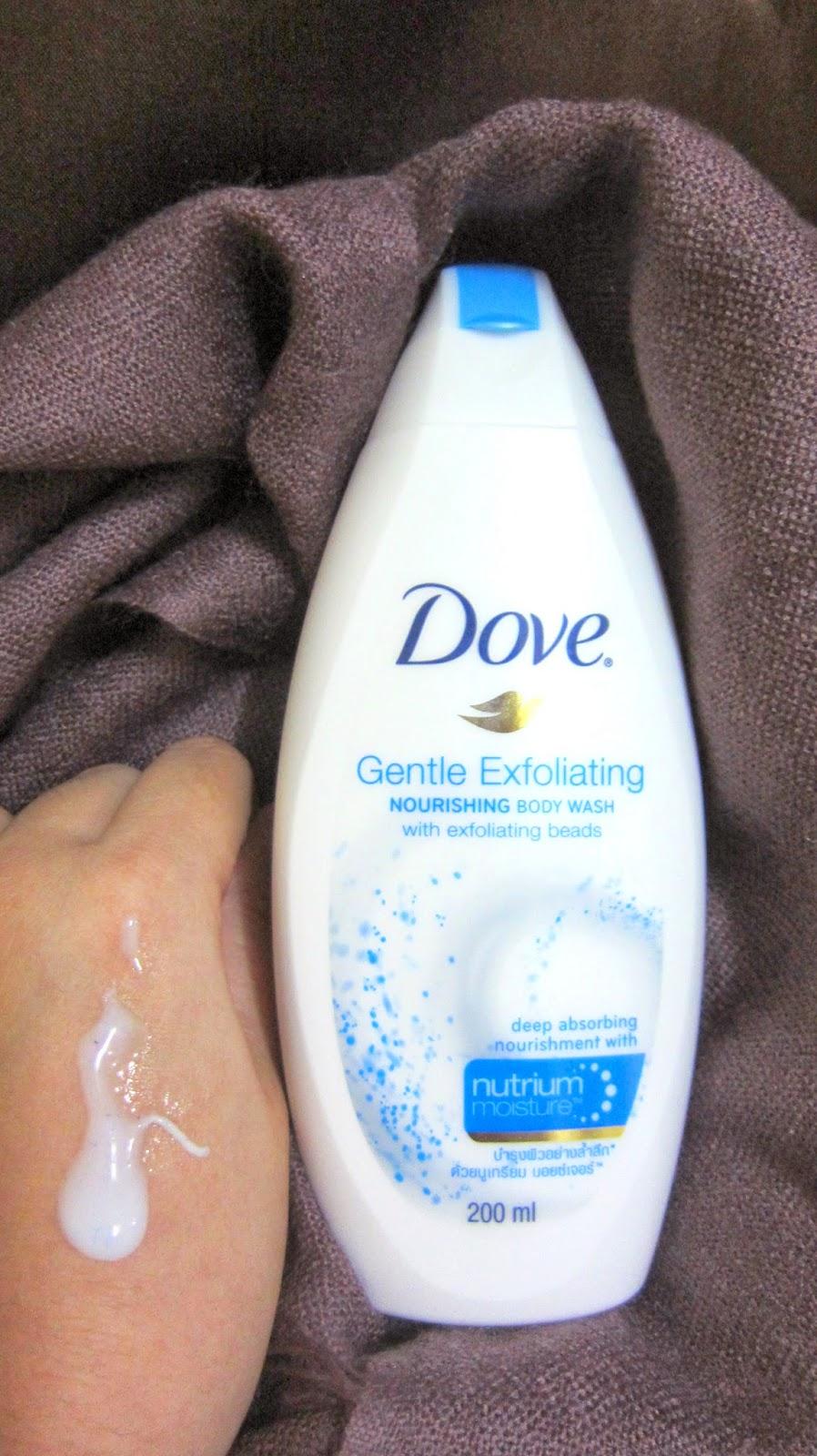Dove Exfoliating Body Wash Review Callmekristine