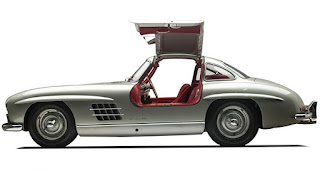 Gullwing Doors, Mercedes-Benz 300SL