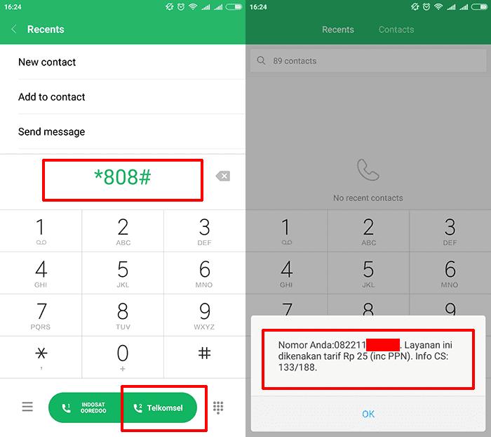 Cek Nomor Telkomsel Sendiri