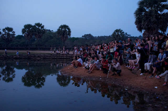 Lever de soleil à Angkor. Photographie par Aleksandr Zykov (cc)