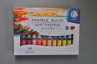 pastele suche prestige astra 36 kolorów auchan styczniowe zakupy haul