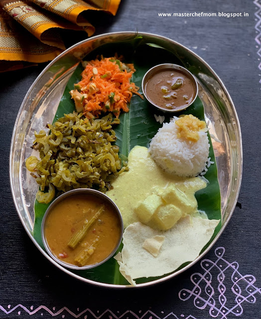 Indian Thali Ideas by Masterchefmom #008