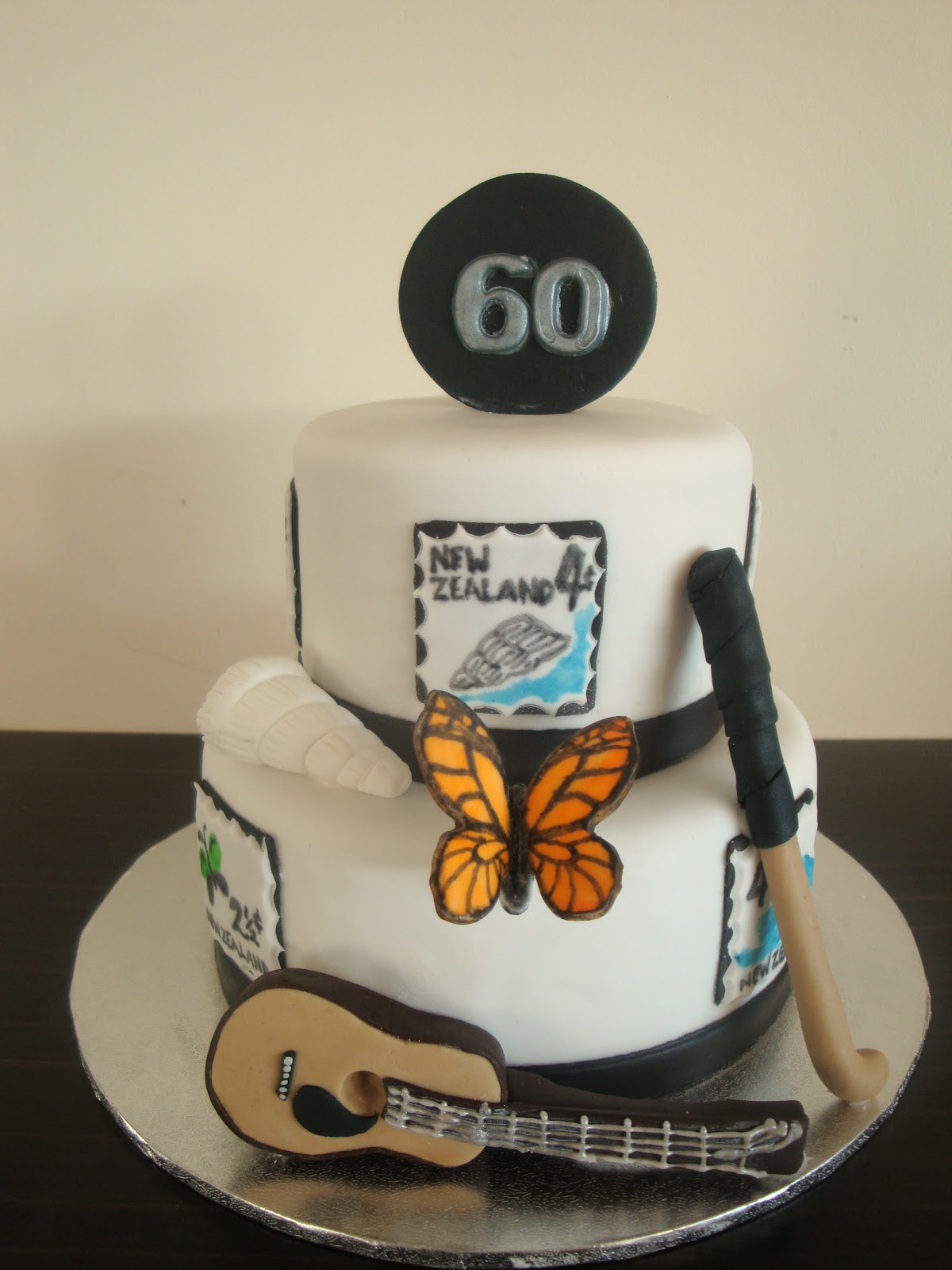 Mrs Woolley S Cakes 60th Birthday Cake