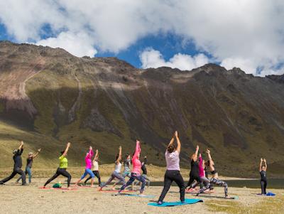 practicar yoga en el nevado de toluca