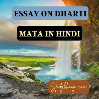 Essay on dharti mata in hindi