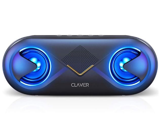 Clavier Supersonic Portable Bluetooth Speaker