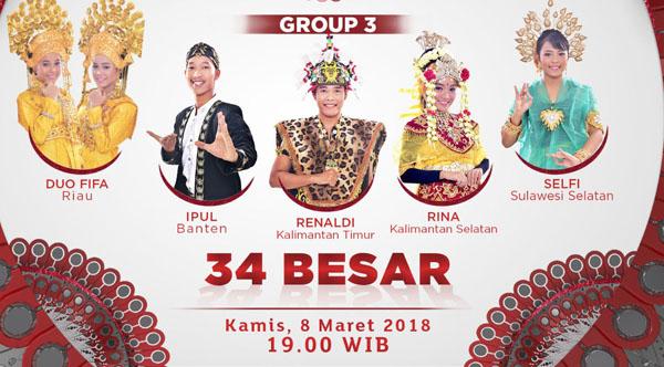 Liga Dangdut Indonesia Yang Tersisih Tadi Malam 8 Maret 2018