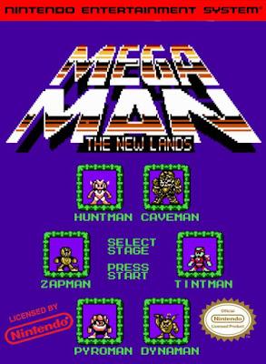 mega man new lands