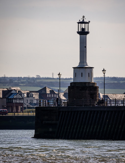 Photo of Maryport lighthouse