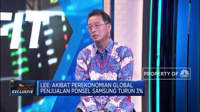 Blak-Blakan Bos Samsung: Ekonomi RI Memang Sedang Sulit