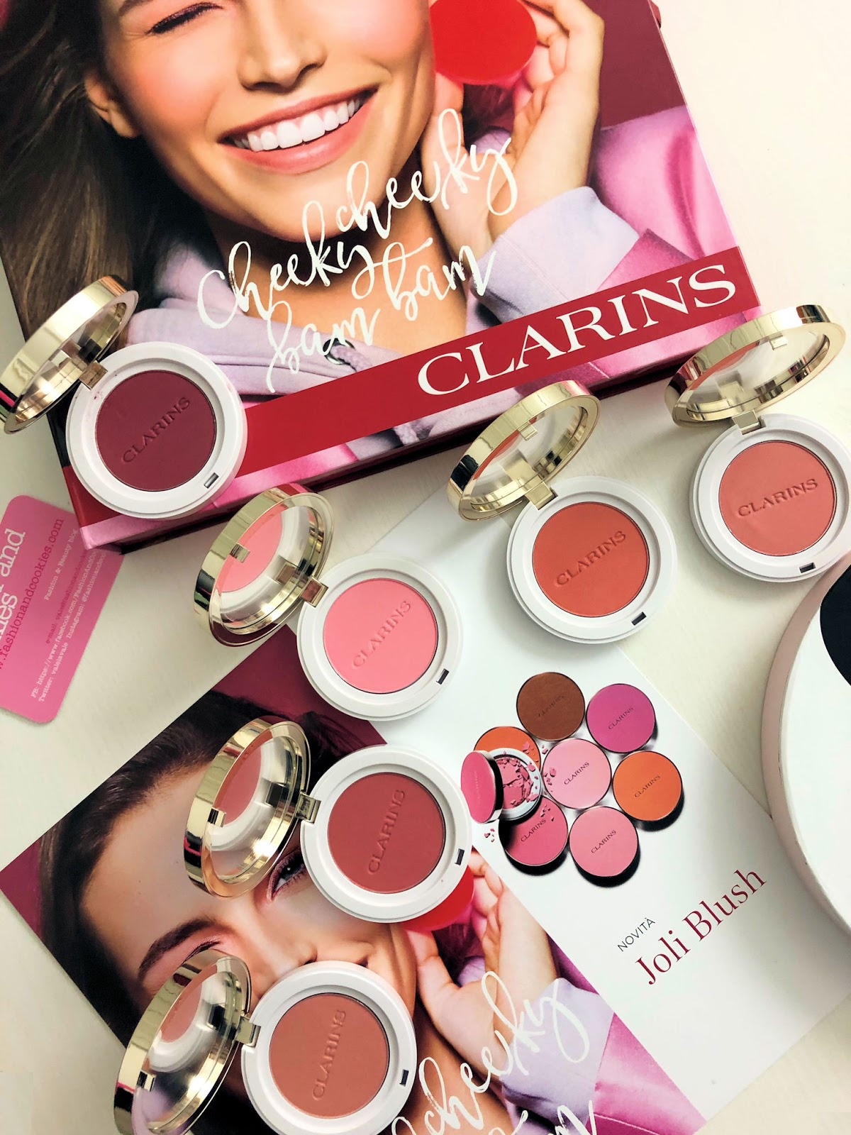 Clarins Joli Blush: nuovi blush a lunga tenuta ultra pigmentati su Fashion and Cookies beauty blog