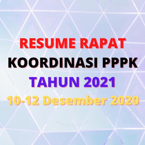 gambar RESUME RAPAT KOORDINASI PPPK 10-12 Desember 2020