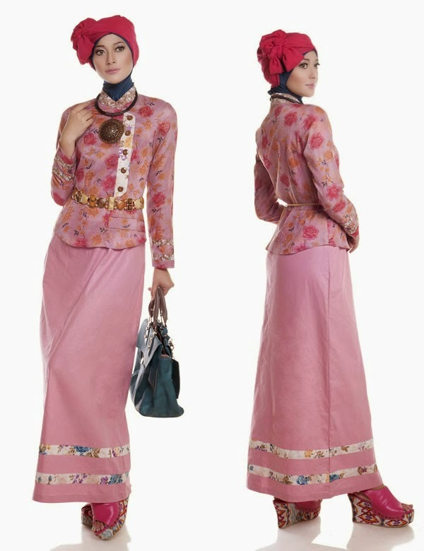 27 Contoh Model Baju Muslim 2015