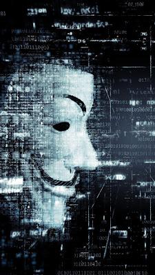 hacker mask photo