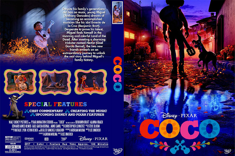 Coco (2017) 720p BrRip [Dual Audio] [Hindi 5.1+English]